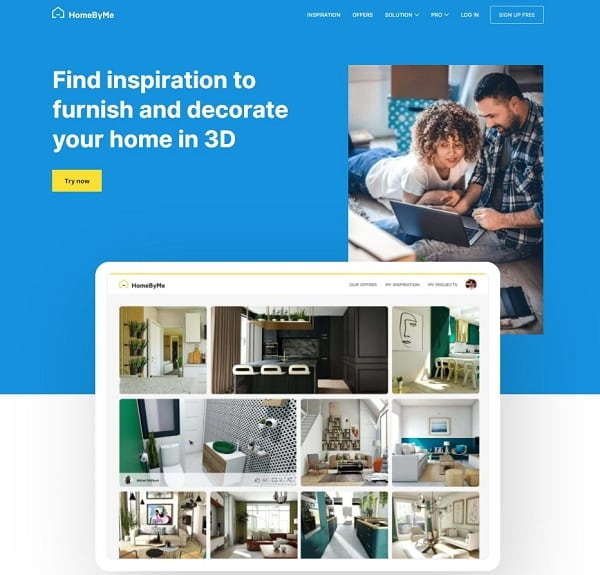 homebyme homepage