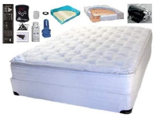 King size softside pillow waterbed mattress