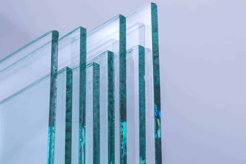 Tempered glass panes
