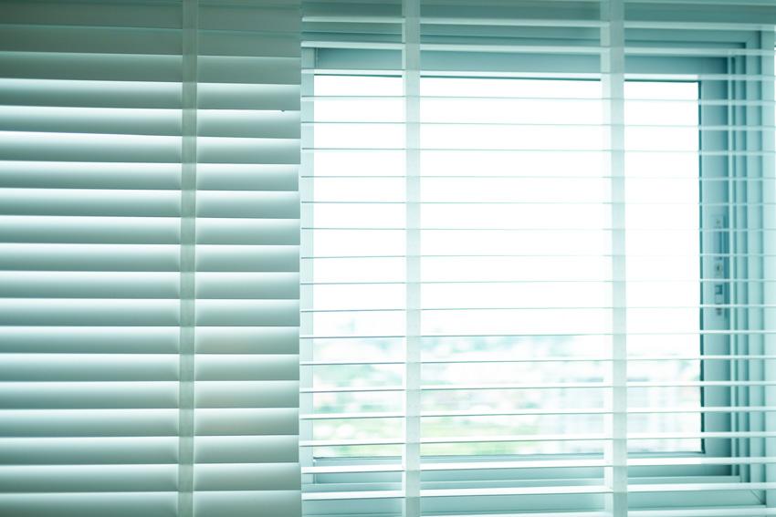 PVC shutters window