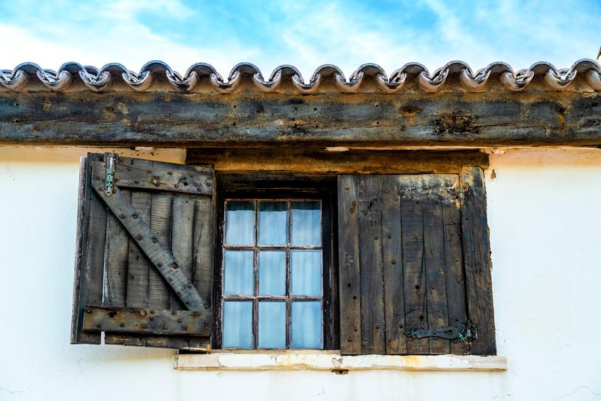 Board and batten window shutters