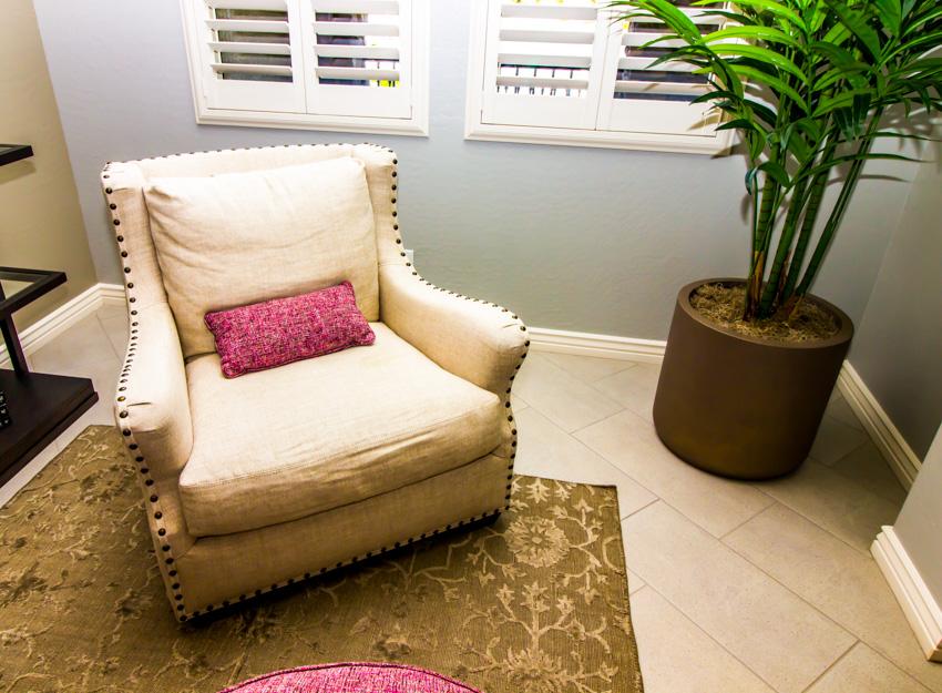 Cushion of sofa chair indoor plant rug