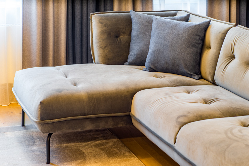 Cushion of sofa curtain pillows