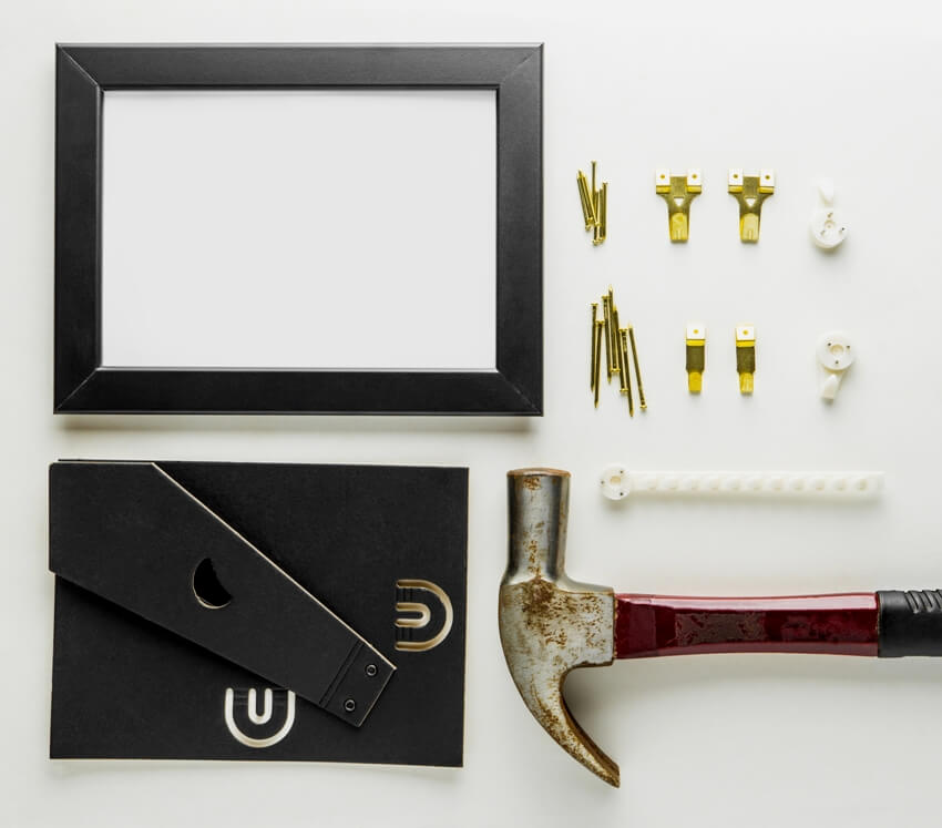 DIY home decoration tool set for picture frame