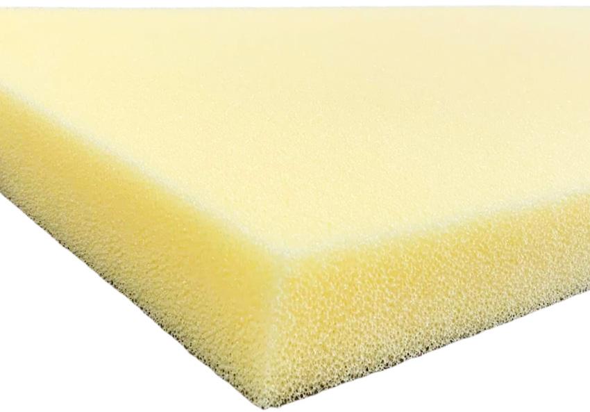 Dry fast open cell foam