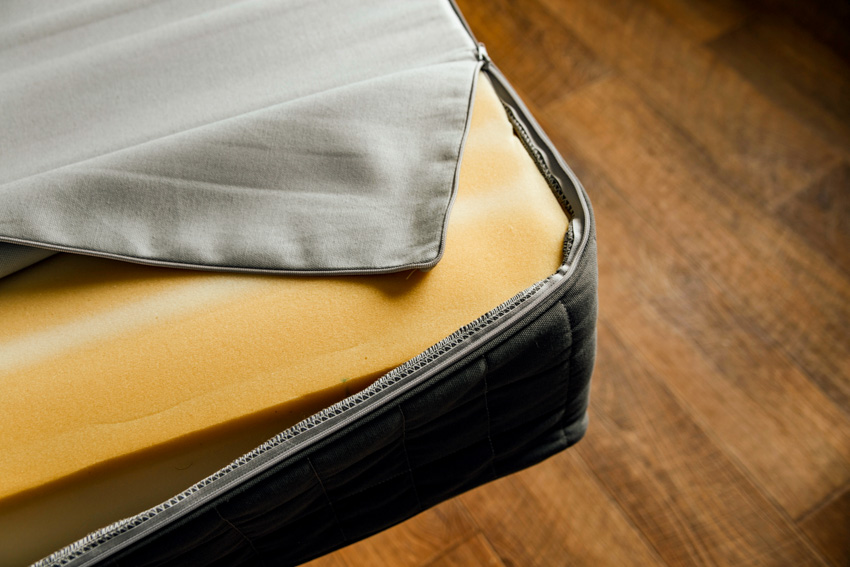 Foam inside sofa cushion