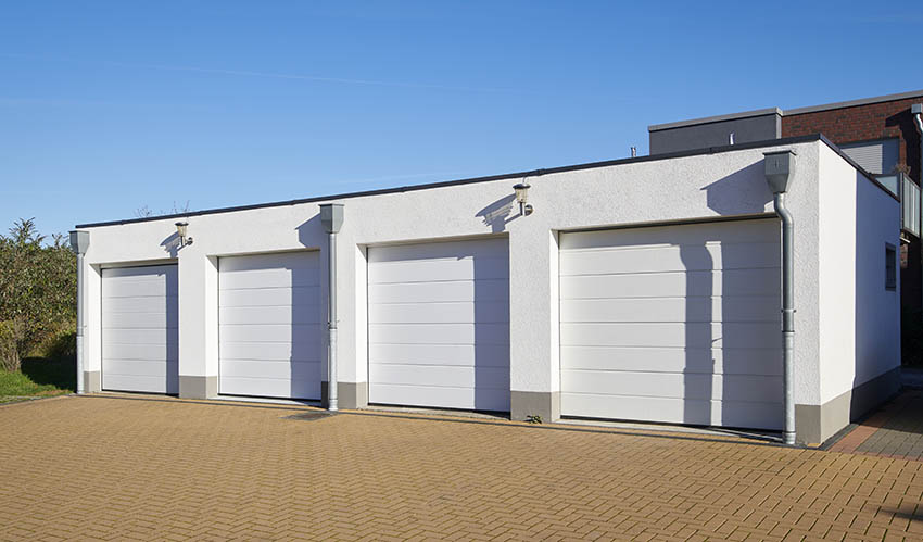 Four car garage