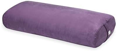 Gaiam yoga bolster rectangular meditation pillow