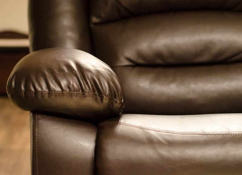Leather material for recliner chairs