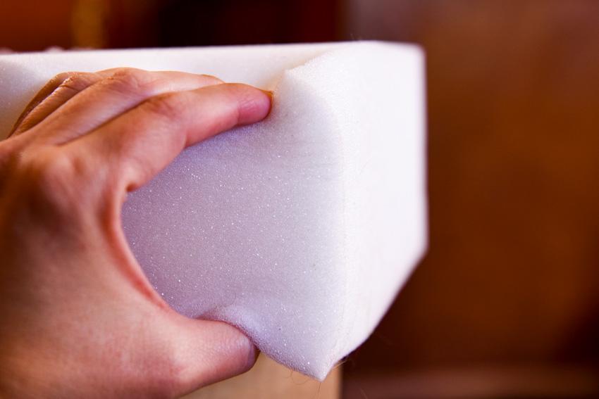 Medium density foam for upholstery