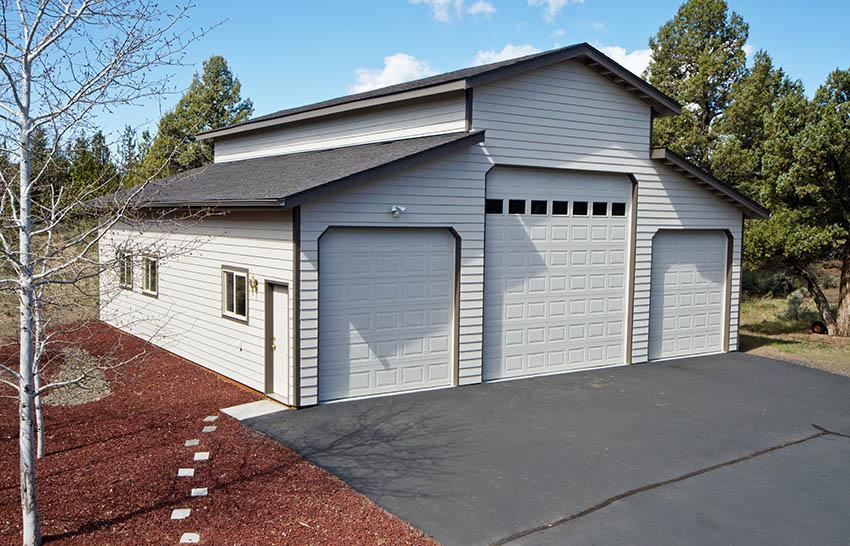 Modern RV garage