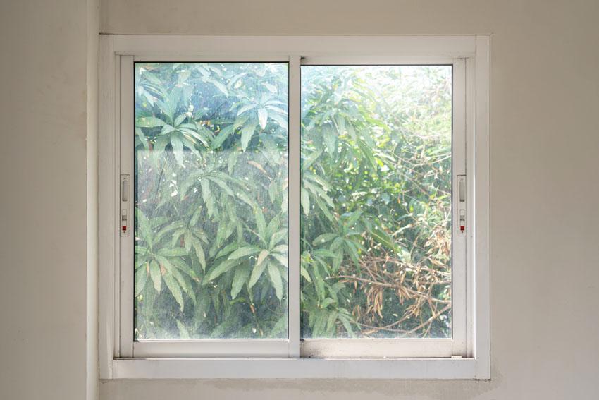 Sliding glass window