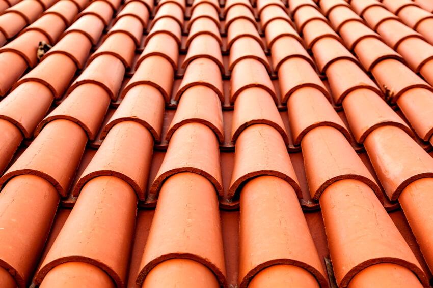 Spanish barrel tiles for roof