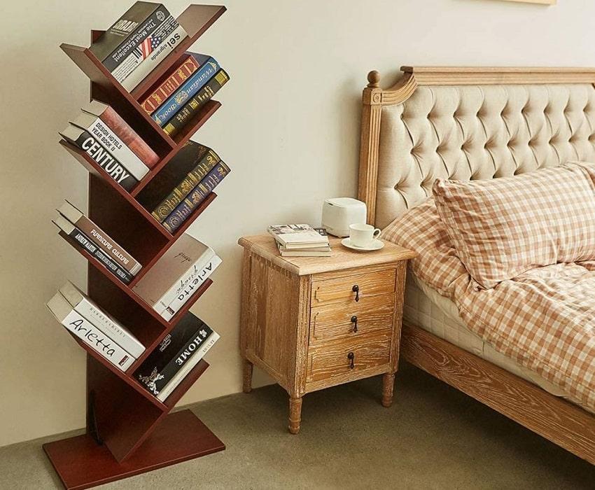 Superjare 9 shelf tree bookshelf