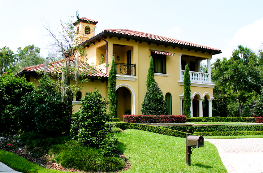 Traditional spanish style house