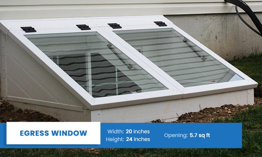 Egress window size