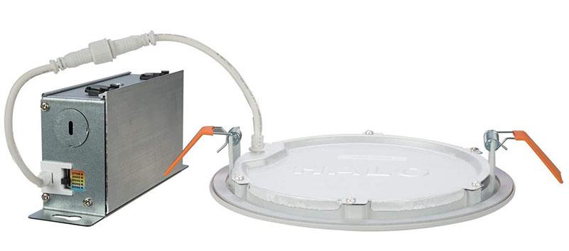 Multi purpose canless recessed light kit