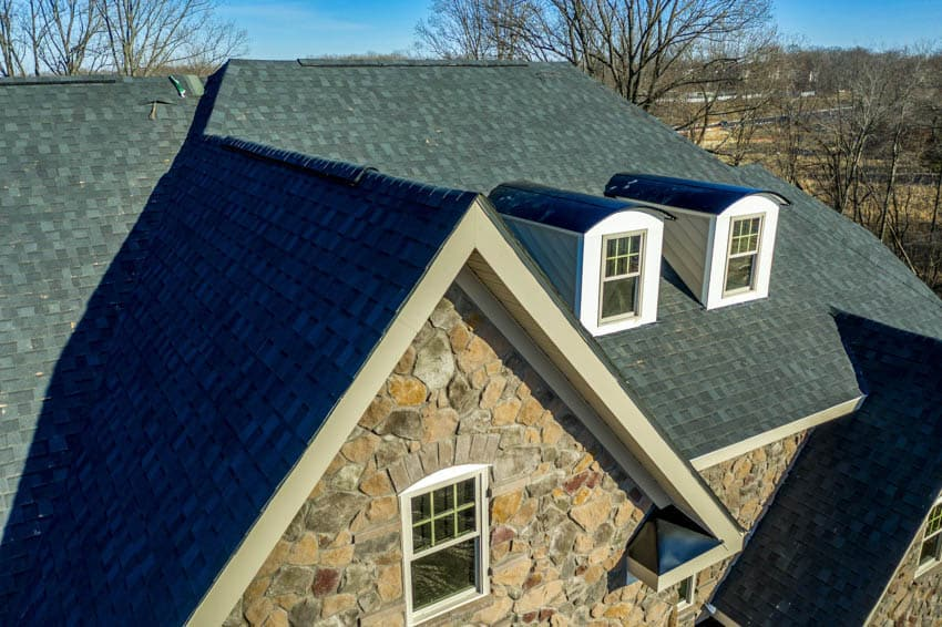 Pitched roof angle steep